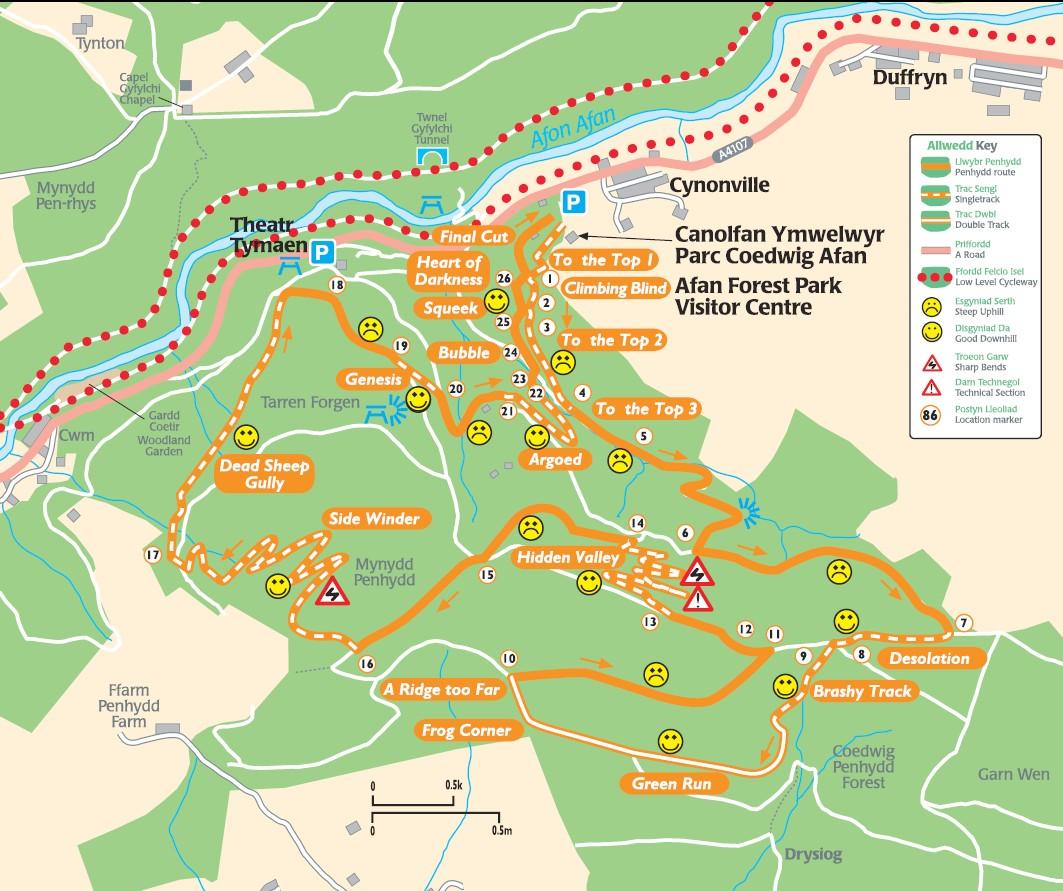 Original Trail Map